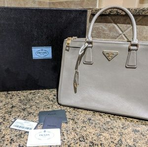Authentic Prada Galleria Lux tote medium
